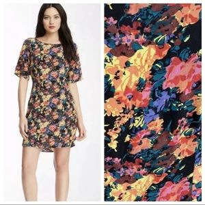 Yumi Kim Elana Shift Dress Silk floral zip back